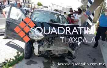 Dos lesionados deja choque en la Apizaco-Tlaxco - Quadratín Tlaxcala