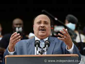 Martin Luther King III and Rev Al Sharpton announce 'March On for Voting Rights'