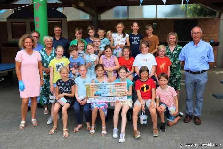 Vierde leerjaar De Schakel wint wedstrijd van Rotary Krekenland