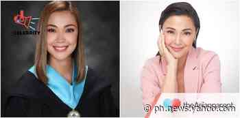 """Jodi Sta. Maria graduates college at 39 years old: """"Success comes to those who want it"""" - Yahoo Philippines News"""