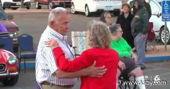 Seniors get moving at drive-in benefit concert in Santa Maria - KSBY San Luis Obispo News