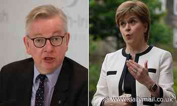 Nicola Sturgeon rails at 'sneering, arrogant' Michael Gove