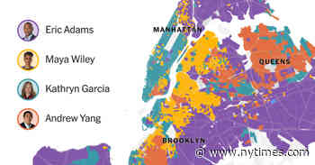 Map: NYC Mayoral Primary Election Results