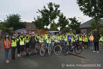 Leerlingen leggen fietsexamen af langs 18 kruispunten