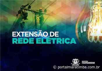 Itapemirim/ES – Atendimento on-line para pedidos de extensão da rede elétrica - Portal Maratimba