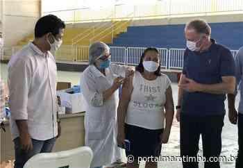 Itapemirim/ES – Itapemirim: Quase 40% da população já recebeu a 1ª dose da vacina contra Covid-19 - Portal Maratimba