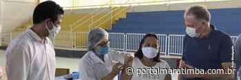 Notícia de Itapemirim – Itapemirim | Quase 40% da população já recebeu a 1ª dose da vacina contra Covid-19 - Portal Maratimba