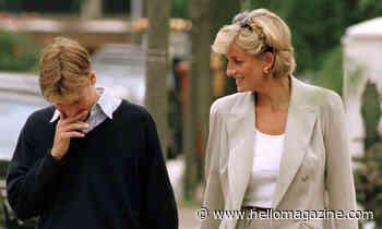 Princess Diana smiles in poignant last photos with Prince William