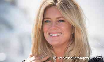 Rachel Hunter and lookalike sister could be twins in rare family photo