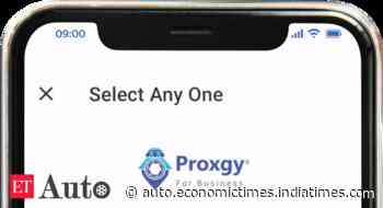 Proxgy enables live visits to car showrooms from home - ETAuto.com