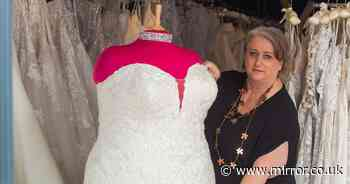 Bridal shop owner left fuming as passers-by 'fat shame' plus-sized mannequin