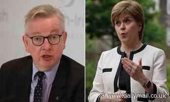 Nicola Sturgeon rails at Michael Gove as he dismisses Scottish independence referendum hopes