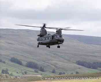 Why Chinook helicopters can be seen across Lancashire