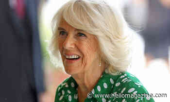 The Duchess of Cornwall's new polka-dot dress is just what you've been looking for