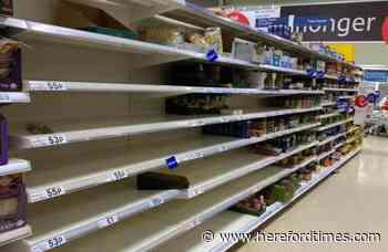 Empty shelves at supermarkets 'inevitable' say industry experts