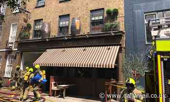 Fire breaks out at Guy Richie's Camden pub