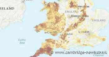 Map shows Cambs areas with highest amounts of radioactive radon