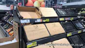 Brits warned of 'inevitable' food shortage in UK supermarkets