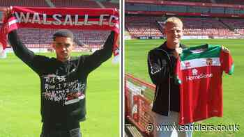 Young duo sign first professional contracts - News - saddlers.co.uk