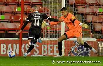 Goalkeeper Liam Roberts departs Walsall for Northampton Town - expressandstar.com