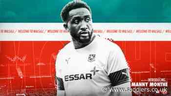 Commanding defender Manny Monthe joins Walsall - News - saddlers.co.uk