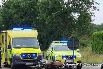 Motorrijder gewond bij ongeval in Opglabbeek: lange files op N76