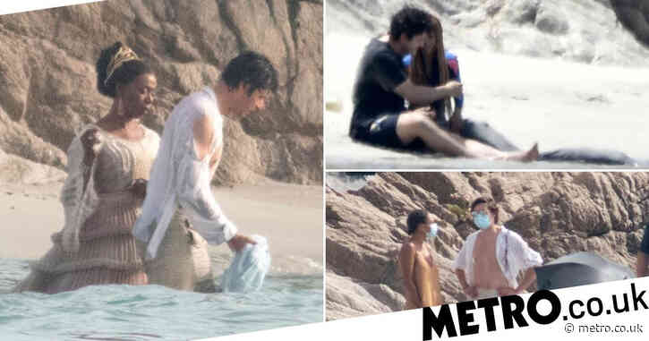 The Little Mermaid remake already looks magical as Halle Bailey recreates iconic scenes from Disney classic