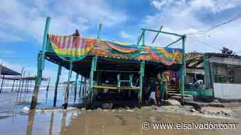 Tormentas causaron daños en un rancho en playa Las Tunas en Conchagua | Noticias de El Salvador - elsalvador.com