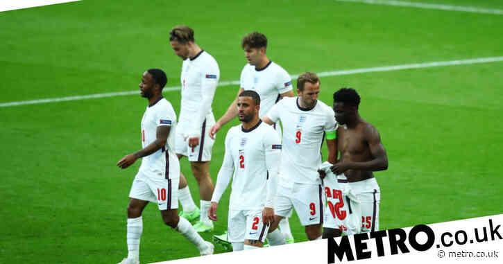 Bukayo Saka explains why he took his England shirt off after Raheem Sterling's goal vs Czech Republic