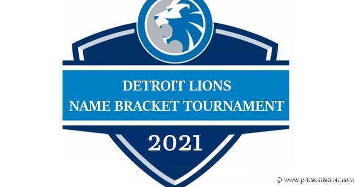 2021 Detroit Lions Name Bracket Tournament: Round 1, Part 1