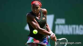 Gauff beaten in Wimbledon warm-up event