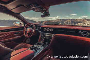 """And the Prize for """"Best Automotive Interior"""" Goes to Bentley's Flying Spur - autoevolution"""