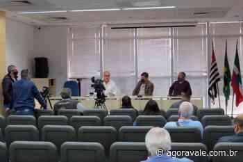 Prefeito de Pindamonhangaba fala sobre investimentos na cidade durante coletiva nesta manhã - AgoraVale