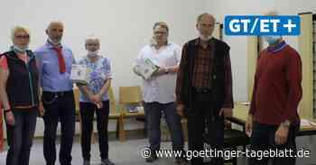 Duderstadt: Die Partei spendet medizinische Masken an örtliche Tafel - Göttinger Tageblatt