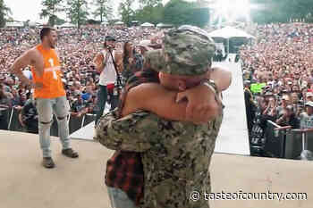 WATCH: Hardy Reunites a Soldier and His Family