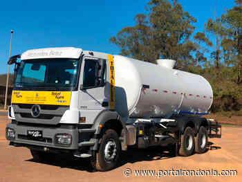 Vilhena: Pago recurso destinado por Mariana Carvalho para compra de caminhão-pipa - Portal Rondonia