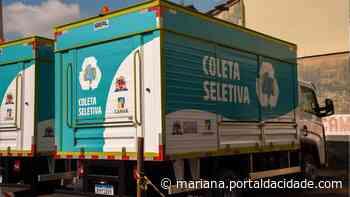 CAMAR recebe novos caminhões para Coleta Seletiva em Mariana - ® Portal da Cidade | Mariana