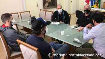 Planos Projeto da prefeitura pretende construir uma ciclovia ligando Mariana a Furquim 17/06/2021 às - ® Portal da Cidade | Mariana