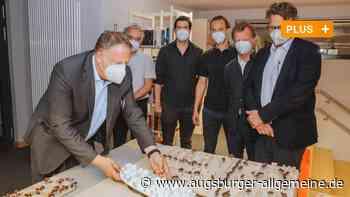 So könnte das große Kauferinger Baugebiet aussehen - Augsburger Allgemeine