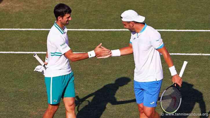 ATP Mallorca: Novak Djokovic, Carlos Gomez-Herrera beat No. 1 seeds for semis