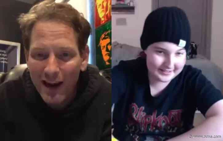 Slipknot's Corey Taylor spoke with a terminally ill fan for an hour