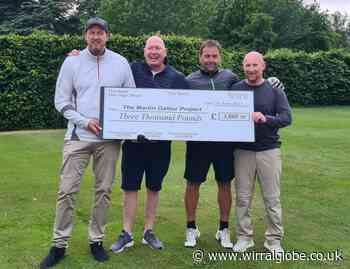 Irby friends take on golf challenge at Arrowe Park