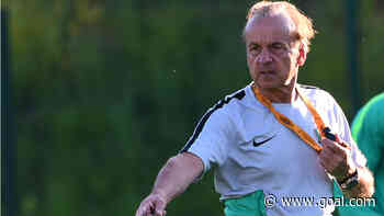 Super Eagles coach Rohr joins NPFL stars in training ahead of Mexico friendly