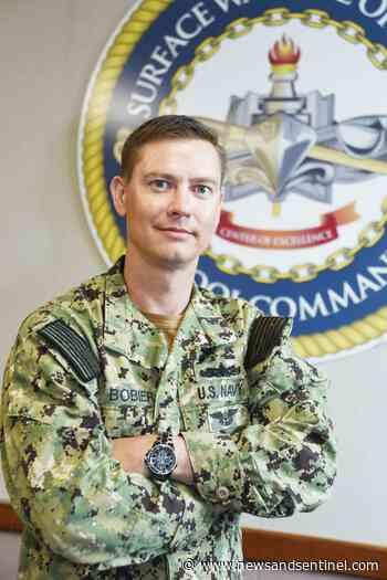 St. Marys native serves U.S. Navy on cutting edge of surface warfare innovation - Parkersburg News