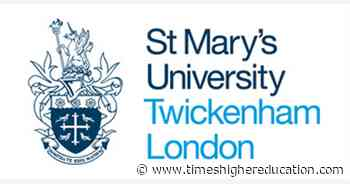 Short Course Tutor, HPA job with ST MARYS UNIVERSITY, TWICKENHAM | 257570 - Times Higher Education (THE)
