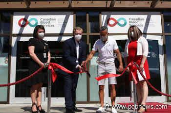B.C.'s first dedicated plasma donor centre opens in Kelowna - Parksville-Qualicum Beach News