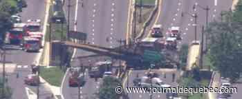 Effondrement d'un pont piétonnier à Washington DC