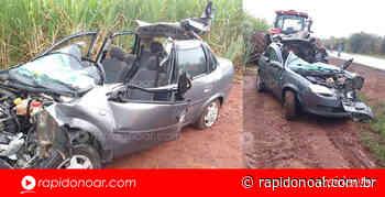 Homem fica ferido após colidir contra caminhão na Rodovia Limeira – Artur Nogueira - Rápido no Ar
