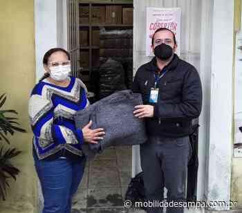 SPMAR doa cobertores em Embu das Artes - Mobilidade Sampa