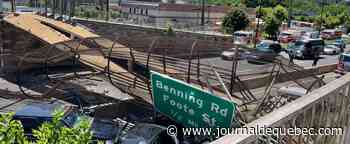 Au moins quatre blessés dans l'effondrement d'un pont piétonnier à Washington DC